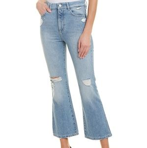 DL1961 Wallace Vintage High Rise Crop Flare Jeans